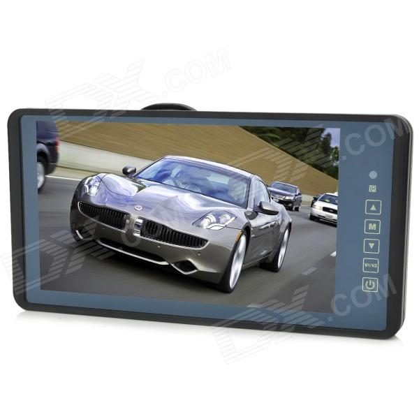 9 LCD Touch Screen Car Rearview Mirror Monitor W Remote