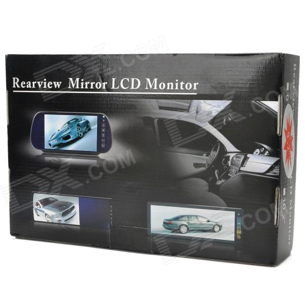 9 LCD Touch Screen Car Rearview Mirror Monitor W Remote Controller