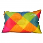 RYDER-Outdoor-Camping-Lengthen-190T-Polyester-Self-inflating-Pillow-w-Pouch-Multicolored
