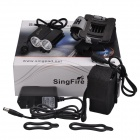SingFire SF-607 2000lm Cold White 4-Mode Bike Flashlight w/ XM-L T6