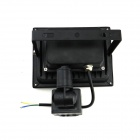 20W 1800lm 6500K bianco freddo PIR sensore di movimento LED flood light - nero