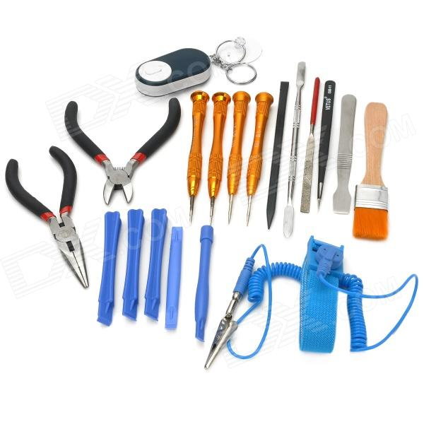 Buy Repair & Maintenance Tool Kit for IPHONE + More - Multicolored with Litecoins with Free Shipping on Gipsybee.com