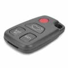AML031202 Replacement 4-key Remote Control Plastic Case for Volvo Car - Grey + Red