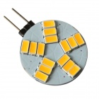GCD 319 G4 5W 350lm 15-SMD 5630 LED Warm White Light Car Lamp (AC 12V)