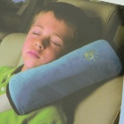 Cotton Velvet Children's Seat Belt Pillow - Blue
