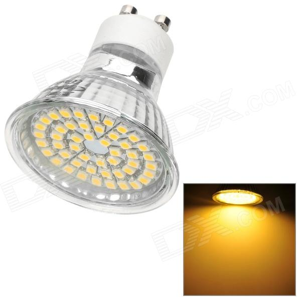 Lexing Lighting LX-009+C GU10 2.5W 150lm 3300K Warm White SMD-3528 LED Spotlight - Silver (220~240V)