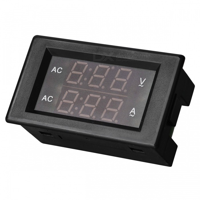 Digital Dual Display AC Voltmeter Ammeter (AC 80~300V / 0~99.9A)