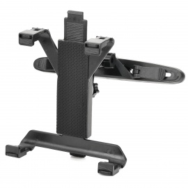 Car-Seat-Headrest-360-Degree-Rotation-Mount-Holder-for-77e10-Tablet-PCs-Black