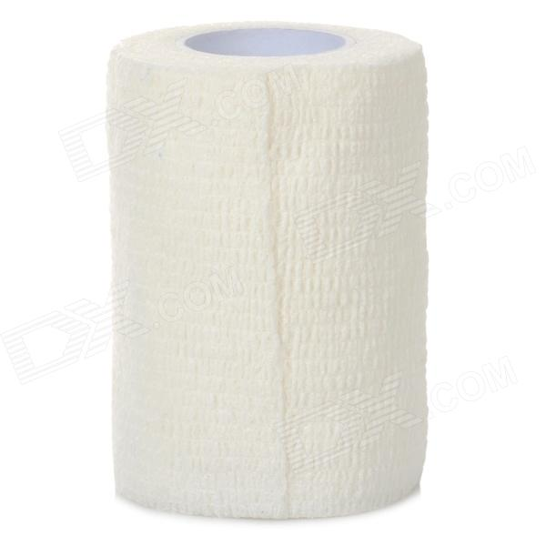 Self-Adhesive Elastic Breathable Medical / Sports Bandage - White (7.5cm x 4.5m)