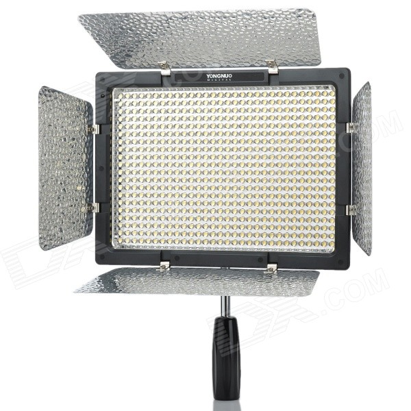 Buy YONGNUO YN600L 36W 600-LED 5500K 4680lm Video Light w/ Filters - Black with Litecoins with Free Shipping on Gipsybee.com