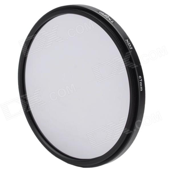 Neutral Density ND2 Camera Lens Filter (67mm)