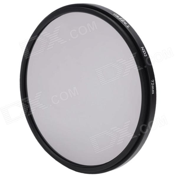 Neutral Density ND2 Camera Lens Filter (72mm)