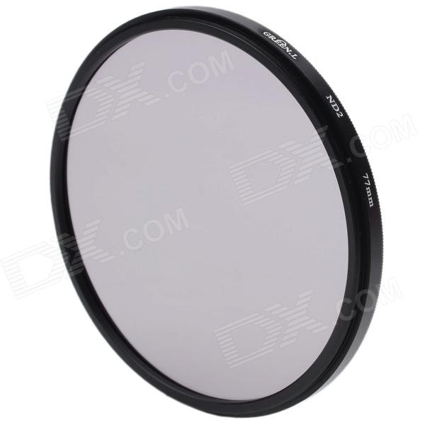 Neutral Density ND2 Camera Lens Filter (77mm)