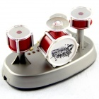 SLW-866-Dark-Red-Mini-Finger-Touch-Jazz-Drums-Music-Game-Set