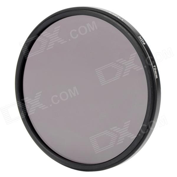 Premium ND8 Camera Lens Filter (72mm)Lenses<br>Form  ColorBlackLens Diameter72mmPacking List<br>