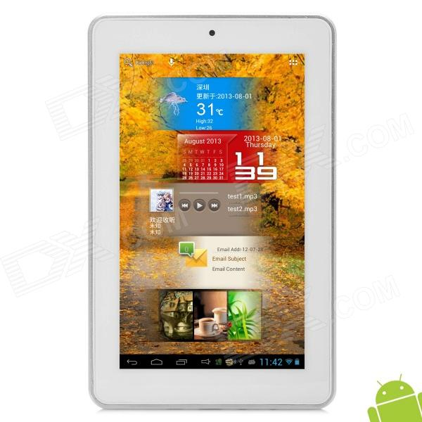 "Allfine FINE7 AIR 7"" IPS Dual Core Android 4.1 Tablet PC w/ 1GB RAM / 16GB ROM / HDMI - White"