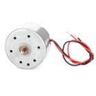 DIY Part Solar Panel Drive Mute Motor - Silver + White