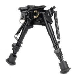 JJB-7B Retractable Metal Gun Model BIPOD - Black
