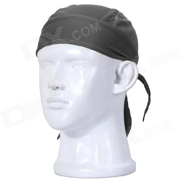 Buy Qinglonglin Men's Stylish Quick Dry Fabric Cycling Cap - Deep Gray with Litecoins with Free Shipping on Gipsybee.com