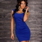 Fashion-Elegant-Zipper-Sleeveless-Bodycon-Dress-for-Woman-Blue-(Free-Size)