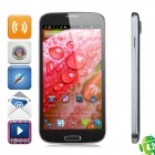 "POMP W88 Quad-Core Android 4.2 WCDMA Bar Phone w/ 5.0"" HD IPS, Wi-Fi and GPS - Blue Grey"