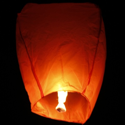 KongMing Candle Powered Flying Sky Lantern (2PCS/Assorted Color)