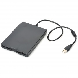 Portable-USB-35-144MB-Floppy-Diskette-Drive-Black