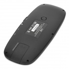 K10-S 2.4GHz Wireless Optical Qwerty Spanish Air Mouse - Black