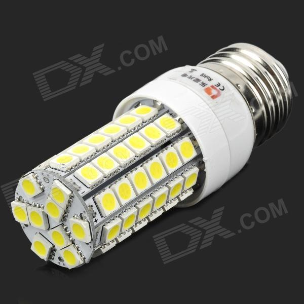 LeXing LX-YMD-004 E27 5W 500lm 7500K 69-SMD 5050 Cold White Light BulbE27<br>ModelLXMaterialPlasticForm  ColorWhiteQuantity1Power5WConnector TypeE27,E2Emitter TypeLEDTotal Emitters69Color BINWhiteColor Temperature7500KDimmableNoWavelengthNoPacking List1 x Bulb<br>
