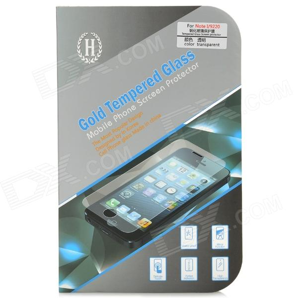 Protective Tempered Glass Screen Guard for Samsung i9220 - Transparent