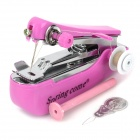 Spring Come OM888 Manual Mini Sewing Machine w/ Thread - Deep Pink