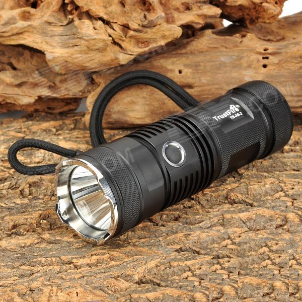 TrustFire TR-A9-2 600lm 5-Mode White Flashlight - Black (1 x 26650 / 32650)