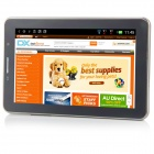 "M7 MTK6515 Android 2.3.6 GSM Bar Phone w/ 7.0"" Capacitive Screen, Dual-Band and Wi-Fi - Black"