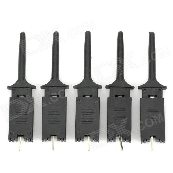 Buy Logic Analyzer Test Clip - Black (5PCS) with Litecoins with Free Shipping on Gipsybee.com