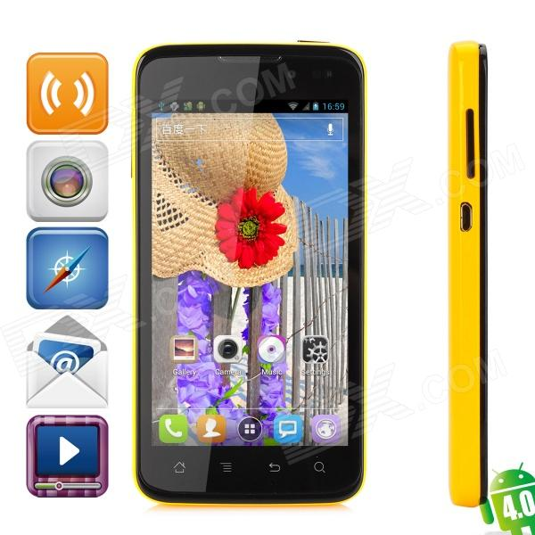 "K-Touch V9 Android 4.0 WCDMA Quad-Core Bar Phone w/ 4.5"" Capacitive Screen, Wi-Fi and GPS"
