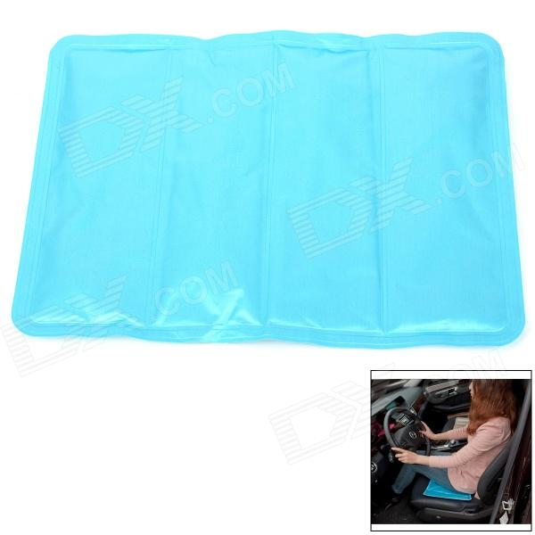 6412 Multifunction Ice Sand Cooling Pad for / Seat / Laptop / Pet Dog + More - Blue