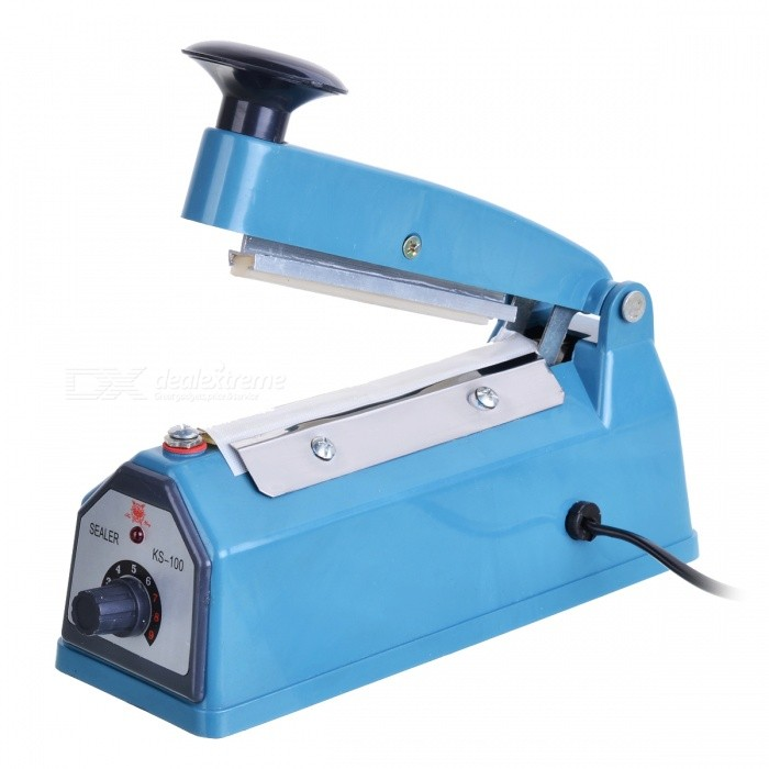 ZW KS-100 Impulse Sealer - BlueLifestyle Gadgets<br>ModelKSForm  ColorWhiteMaterialABSQuantity1Packing List1 x Sealer1 x Heating wire cloth1 x English manual<br>