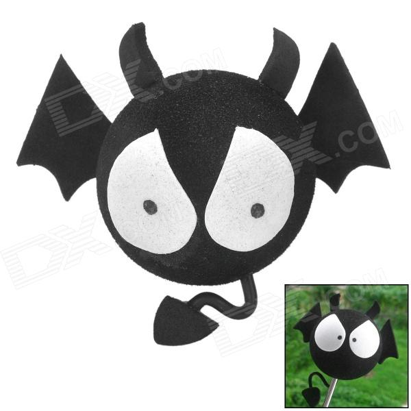 EVA Foam Little Devil Style Car Decoration Antenna Balls - BlackOther Exterior<br>Quantity1MaterialEVAForm  ColorBlackOther FeaturesSoftPacking List1 x Ball<br>