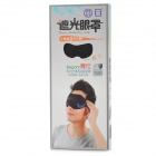 Zero Zone L037 confortable vagón de cabeza Eye Mask - Negro