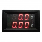"0,28"" LED Red Dual-Display 3-Digital Strom Spannung / Spannung Meter"