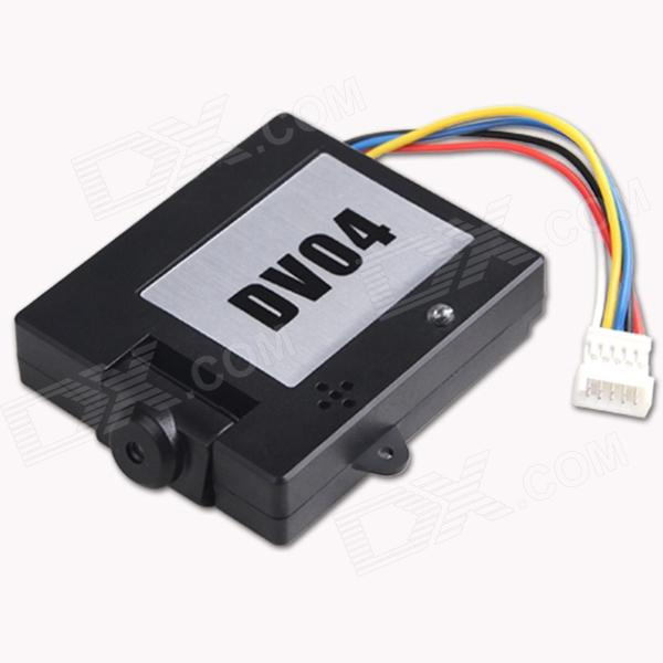 Buy Walkera DV04 5.8G FPV HD Video Camera for DEVOF7/F4 Transmitter - Black with Litecoins with Free Shipping on Gipsybee.com