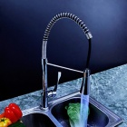 YDL-F-0504-High-Quality-Copper-Hot-Cold-Pull-out-Kitchen-Sink-Classic-Spring-Faucet-Silver