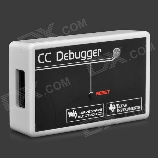 ZIGBEE CC2530 Emulator Debugger Downloader - Light Grey + BlackBoards &amp; Shields<br>BrandNModelNForm  ColorOrangeQuantity1MaterialPCEnglish Manual / SpecYesPacking List1 x Debugger1 x USB connection cable (144cm)1 x 10-Pin connection cable (15cm)1 x Software CD<br>
