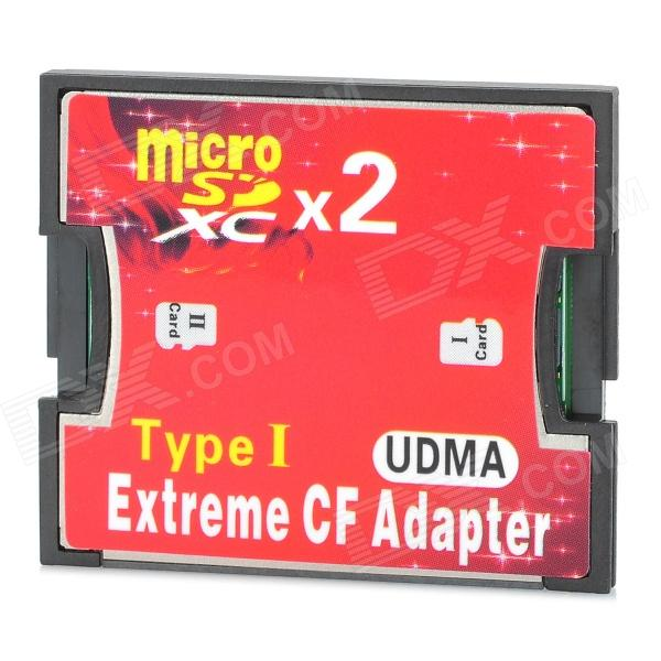 a1 dual micro sd tf to cf high speed sdxc adapting card. Black Bedroom Furniture Sets. Home Design Ideas
