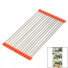 Foldable-Stainless-Steel-Drain-Rack-Silver-2b-Orange-(Large-Size)