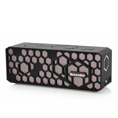 Sounder N5 Wireless Bluetooth V2.1 Audio Music Speaker w/ Handsfree Call for Iphone - Black