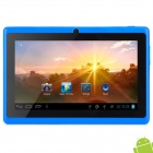 MID-756 7″ Android 4.2 Tablet PC w/ 512MB RAM / 4GB ROM – Blue + Black