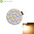 SENCART G4 4.5W SMD LED 320lm Warm White Reading / Nummernschild Lampe