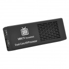 MK808B Android 4.2.2 Mini PC Google TV Player w / WiFi / / TF / HDMI - Blanco + Negro