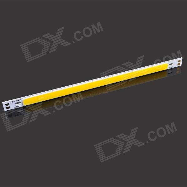 15W 1500lm 3200K LED Warm White Light Lamp Strip - Silver + Yellow (12~14V)